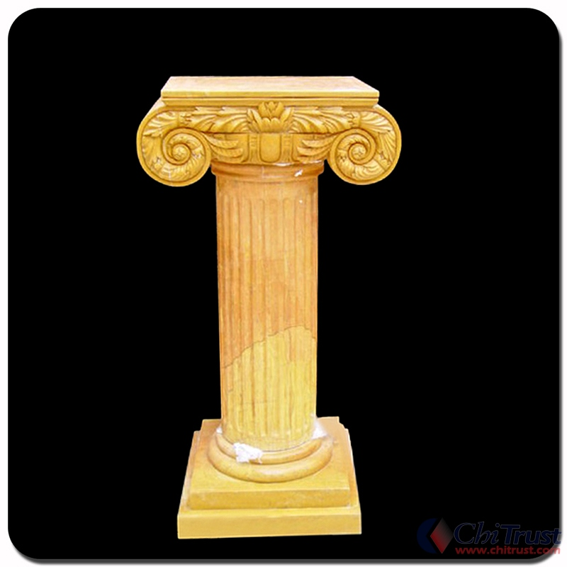 Yellow Marble Column